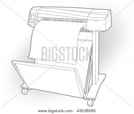 Color ink printer