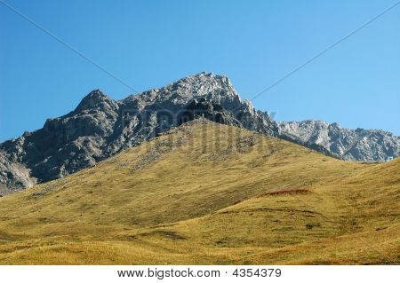 Mountain And Sky