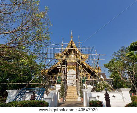 Repair Buddha Building