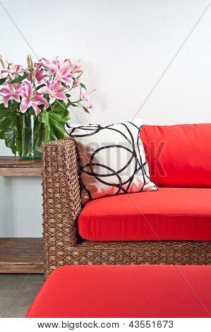 Beautiful Basketwork Furniture