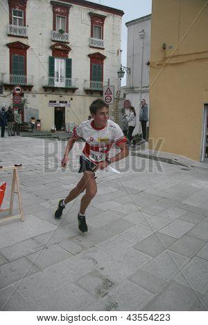 Sprint orienteering in Italy