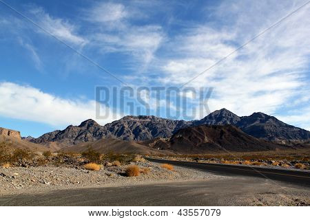 Death Valley In Nevada