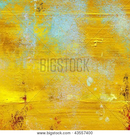 Gold Grunge Background