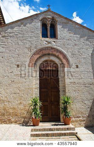 Church of St. Martino. Spello. Umbria. Italy.