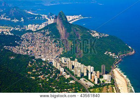 Aerial Rio de Janeiro