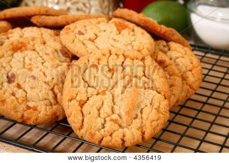 Buttery, Brittle, Candy Chip Cookies