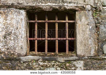 Ancient Facade Window