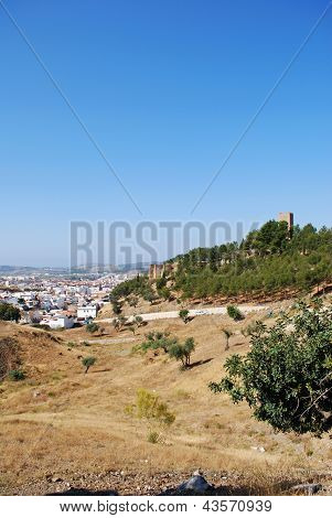 Town and countryside, Velez Malaga, Spain.