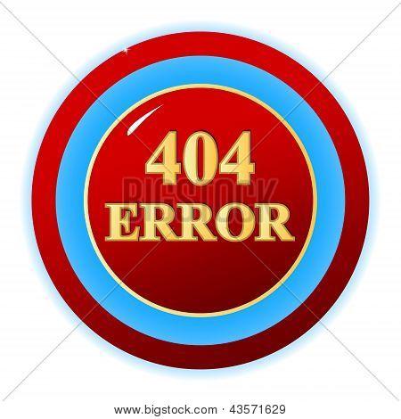 404 Error Symbol