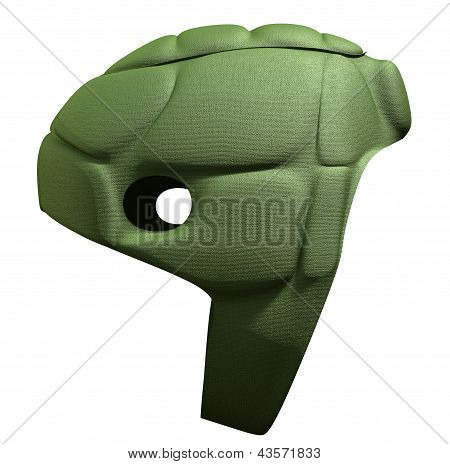 Green Scrum Cap Side