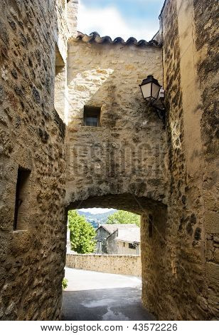 Picturesque Village In Region Of Luberon, France
