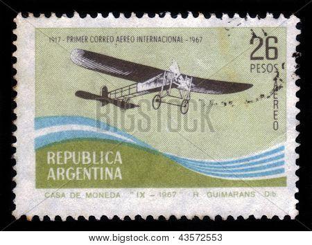Retro Airplane, Early 20 Th Century