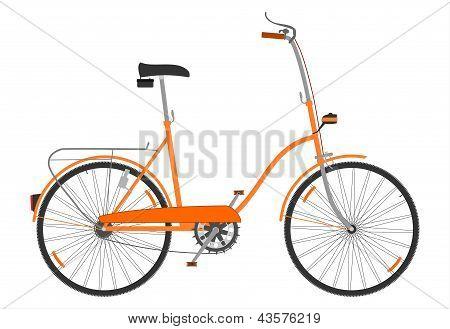 Retro folding bike