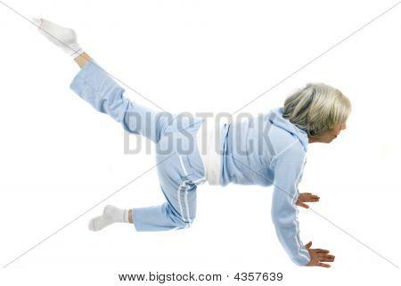 Mulher madura Fitness