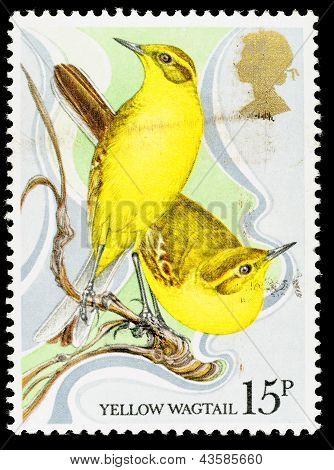 Großbritannien Wildvogel-Briefmarke