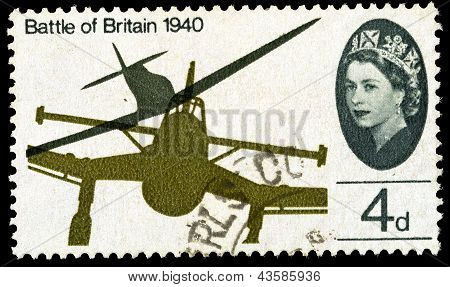 Britain Battle Of Britain Postage Stamp