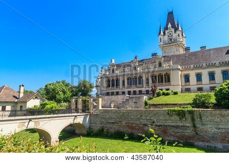 Grafenegg Castle Near Vienna, Lower Austria
