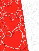 Three Love Hearts
