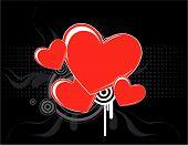 Cool Love Hearts