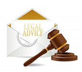 Legal Advice And Gavel