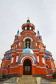 picture of tabernacle  - Kazan Cathedral in Siberian baroque style in Irkutsk
