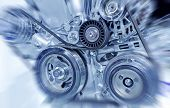 pic of hydrogen  - Part of car engine  made in china - JPG