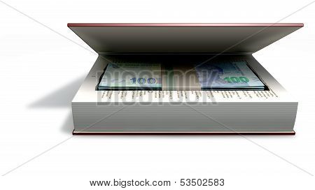 Concealed Rands In A Book Front