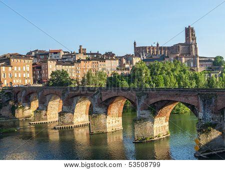 Albi, Bridge Over The Tarn River