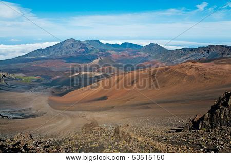 Colors Of Haleakala Crater