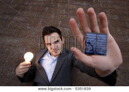 Hombre solar
