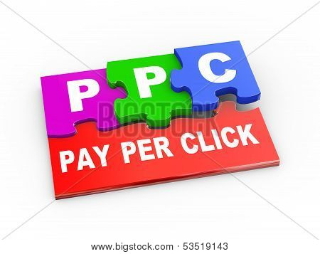 3D Ppc Puzzle Piece Illustration