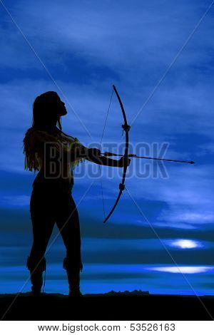 Silhouette Native Pull Bow