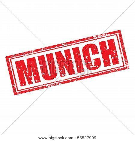 Munich-stamp