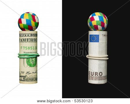 Dollar And Euro, Ball