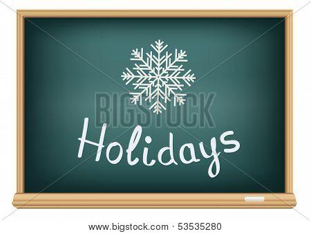school board holidays