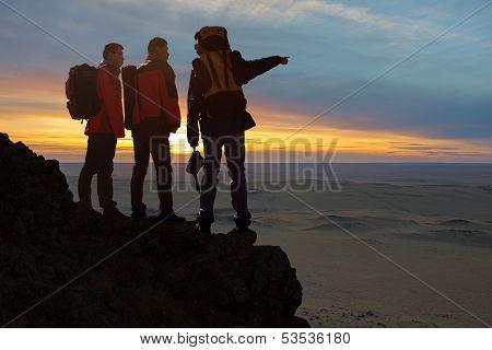 Three Travelers