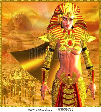 Egyptian Warrior Queen