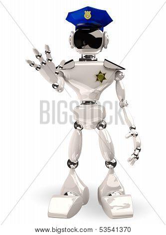 Cop Robot