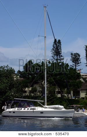 Sailboat Yacht
