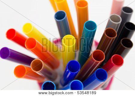 Colorful Felt Tip Pens.