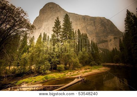 Yosemite Fire Background