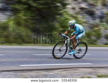 The Cyclist Alexey Lutsenko