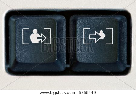Extra/intra Buttons