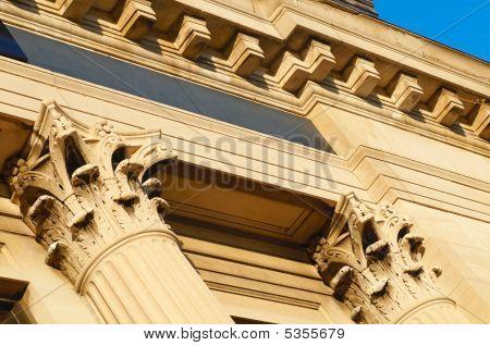 Angled Columns
