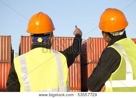 Worker With  Containers