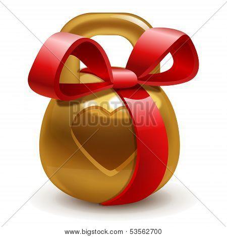 Gold Kettlebell