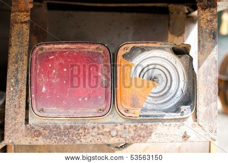 Old Truck Taillights