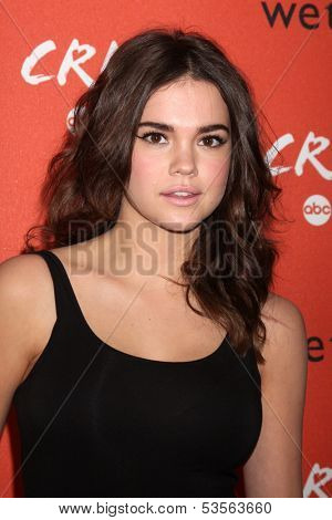 LOS ANGELES - NOV 6:  Maia Mitchell at the CRUSH by ABC Family Clothing Line Launch at London Hotel on November 6, 2013 in West Hollywood, CA