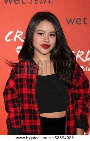 LOS ANGELES - NOV 6:  Cierra Ramirez at the CRUSH by ABC Family Clothing Line Launch at London Hotel on November 6, 2013 in West Hollywood, CA