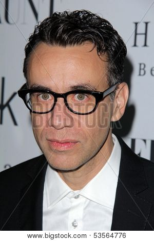 LOS ANGELES - NOV 7:  Fred Armisen at the Flaunt Magazine November Issue Party at Hakkasan on November 7, 2013 in Beverly Hills, CA\